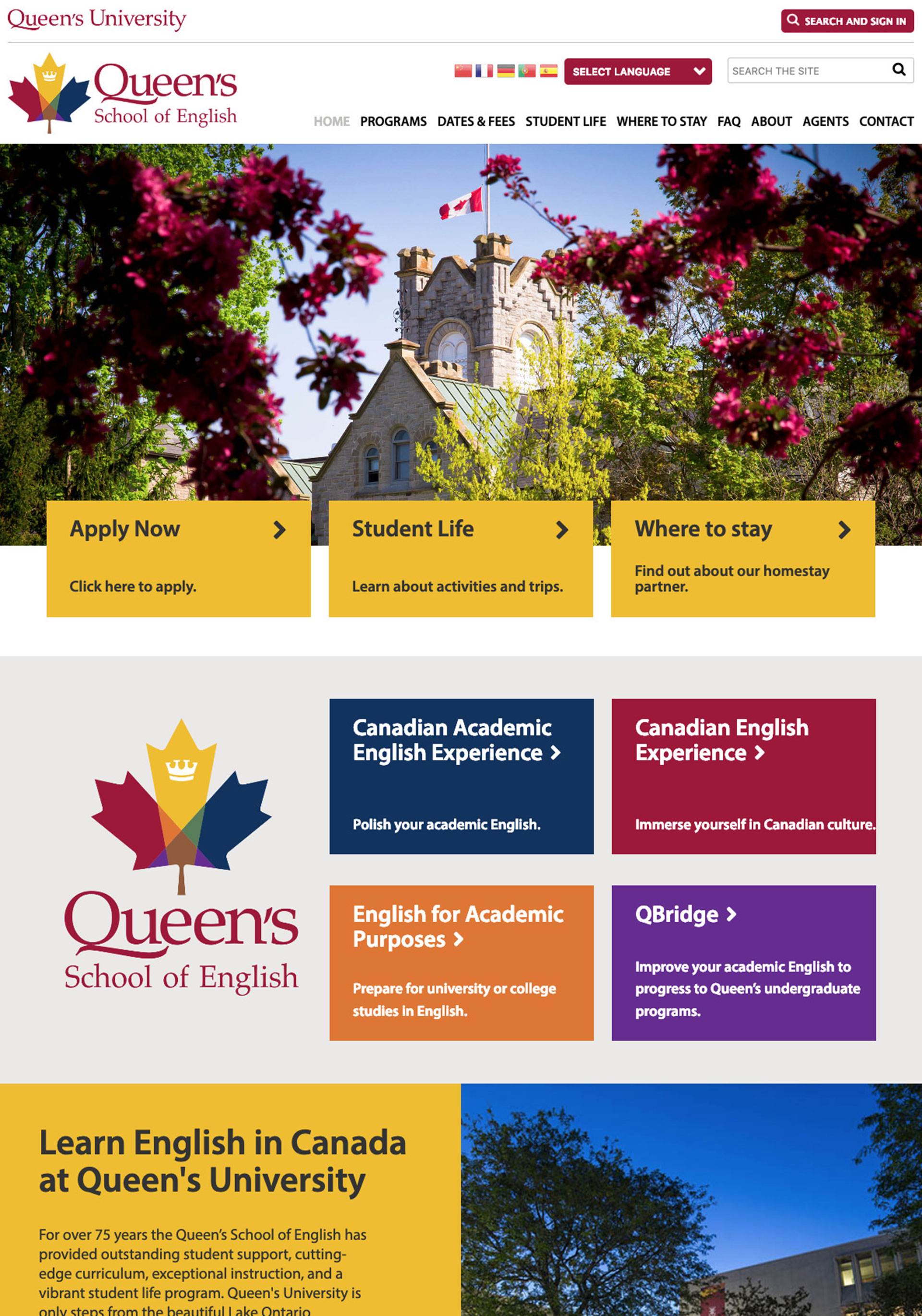 Queen's University School of English